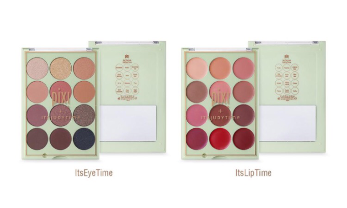 Pixi by Petra: ITSJUDYTIME Eyeshadow & Lipstick Palettes