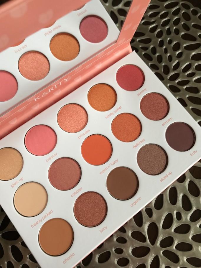 Karity Just Peachy Eyeshadow Palette 2