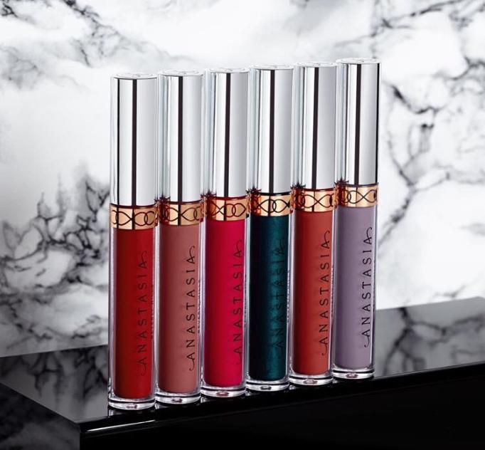 Anastasia Beverly Hills: New Liquid Lipstick Shades