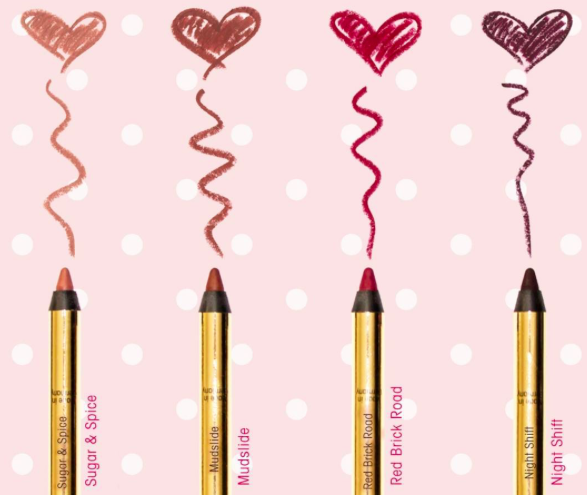 Gerard Cosmetics: New Lip Pencil Shades
