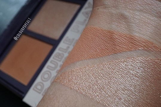 Colourpop Phase 3 Sand Collection Double Play Swatches