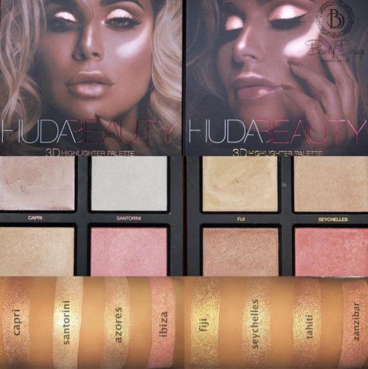 3D Highlighter Palette - Bronze Sands by Huda Beauty #16