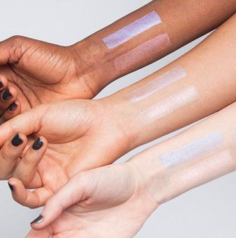 Milk Makeup Mars Holographic Stick Swatch