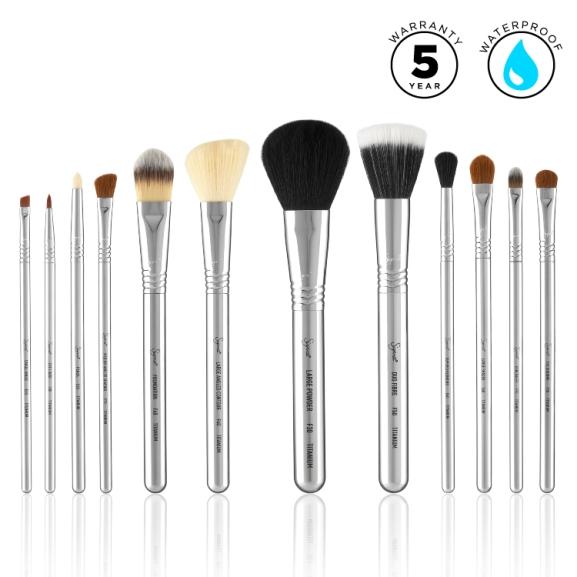 Sigma Beauty Titanium Brush Set