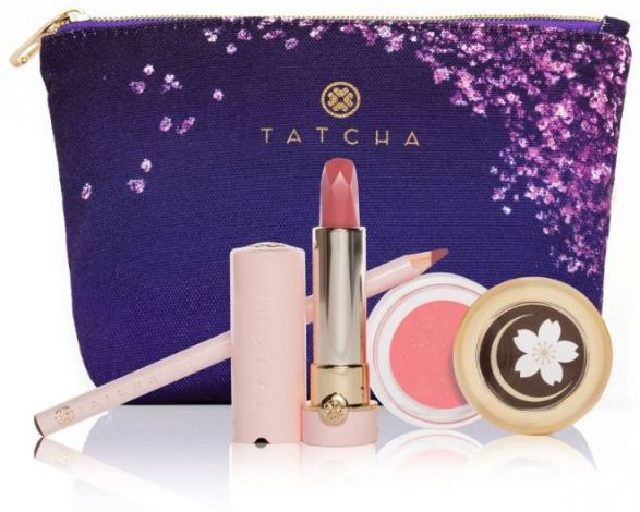 Tatcha Cherry Blossom Lip Trio