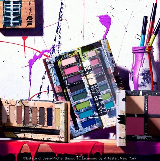 Urban Decay x Jean-Michael Basquiat Collection