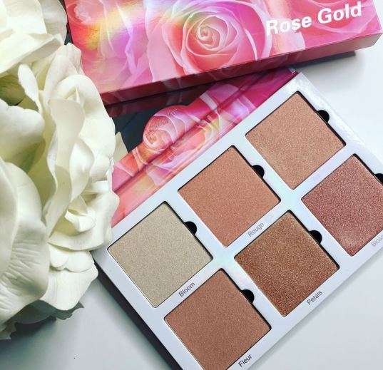 Violet Voss Rose Gold Highlighter Palette 2