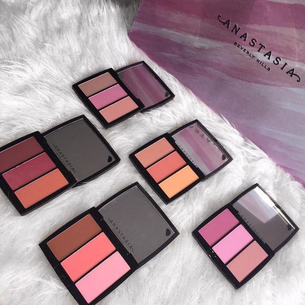 Anastasia Beverly Hills Blush Trio Palettes 2