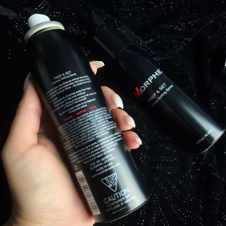 Morphe Prep and Setting Spray 2
