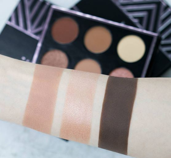 Makeup Geek In The Nude Swatches