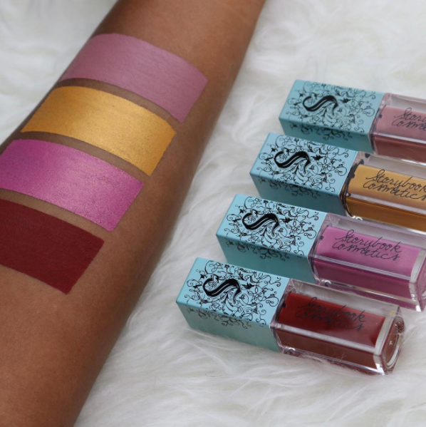 Storybook Cosmetics Liquid Lipstick Swatches