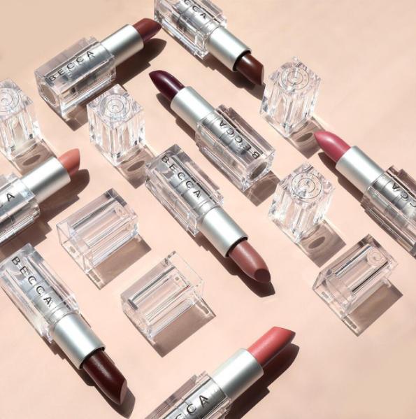 Becca Cosmetics Lush Lip Balm and Colour
