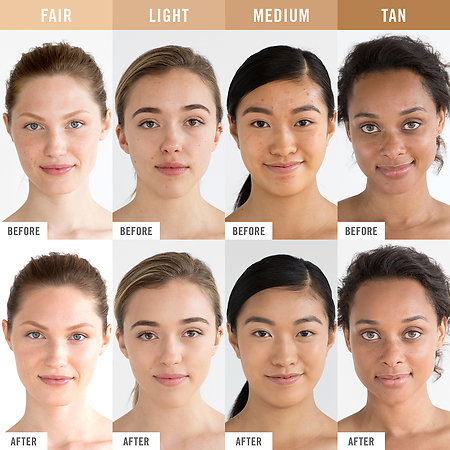 First Aid Beauty Triple Protection Skin Tint Swatches 2