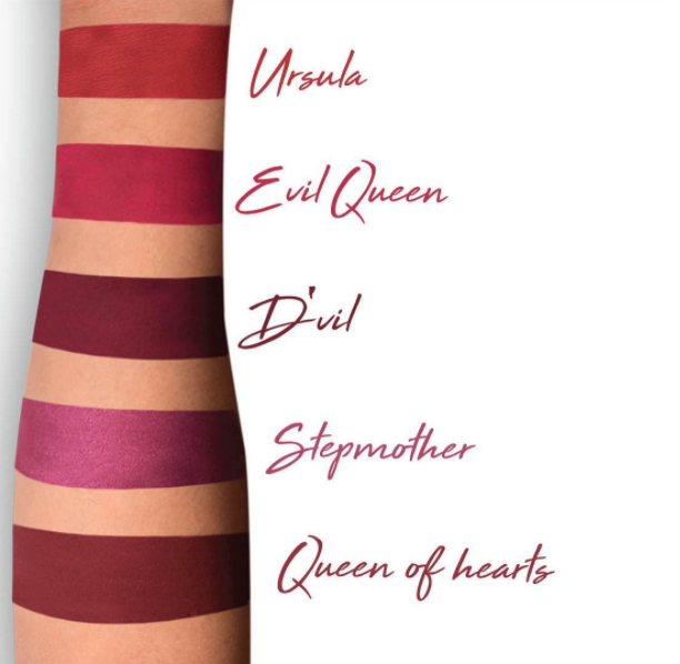 LA Splash Malevolent Mix Lipstick Swatches
