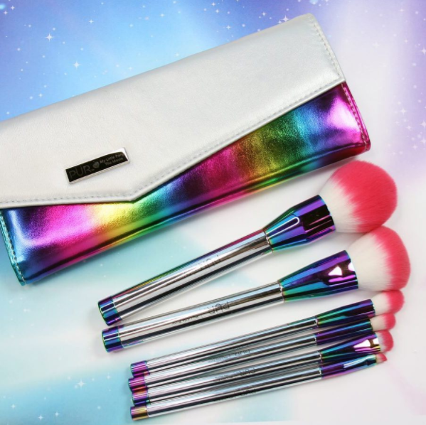 pur cosmetics my little pony collection brushes