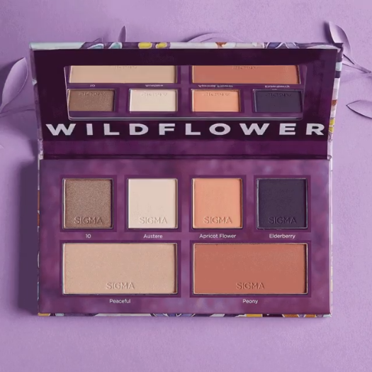 Sigma Beauty Wildflower Collection Eye and cheek palette.png