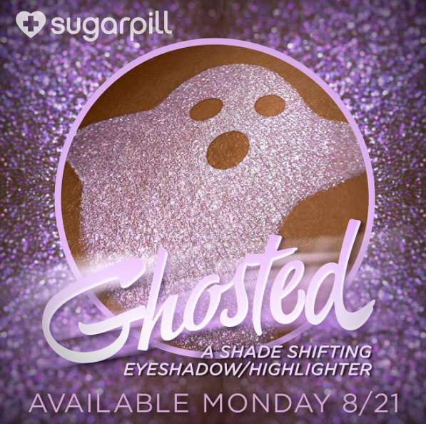 Sugar Pill Ghosted Eyeshadow Highlighter