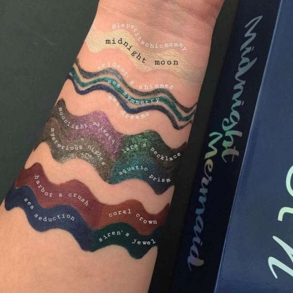 Wet n Wild Mermaid Collection swatches 2.png