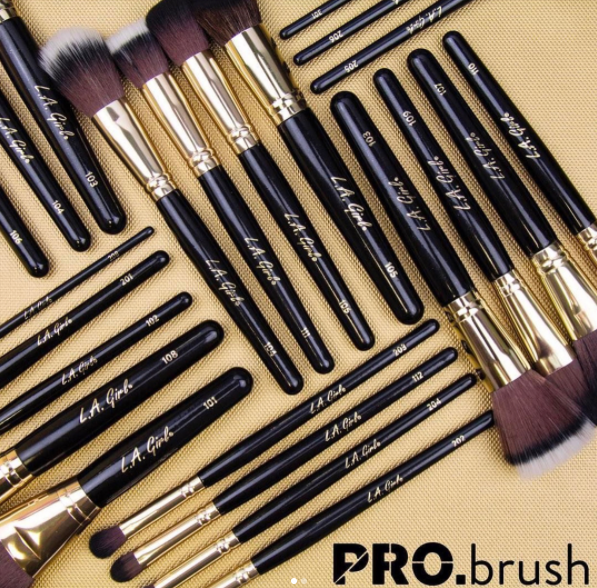 LA Girl Cosmetics PROBrush Collection 2