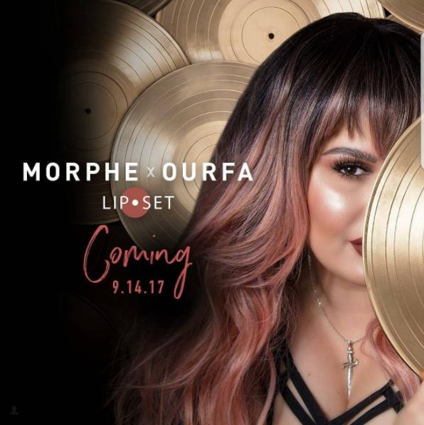 Morphe X Ourfa Lip Liner & Liquid Lipstick 2